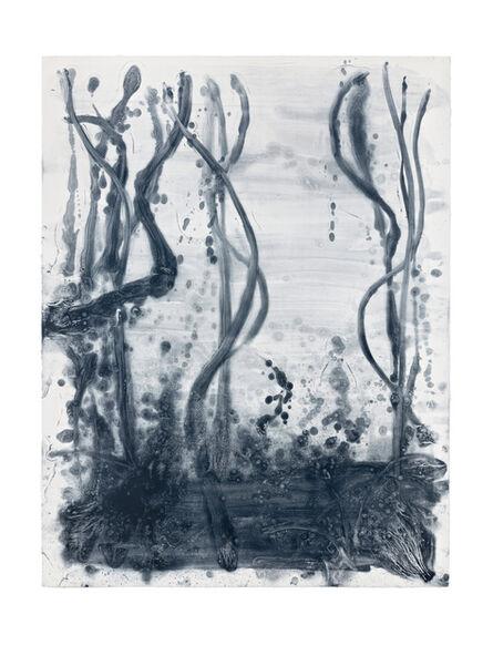 Shinro Ohtake, 'Indigo Forest 20', 2015