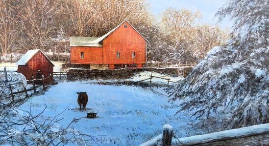 Del-Bourree Bach, 'Winter Watch', 2020