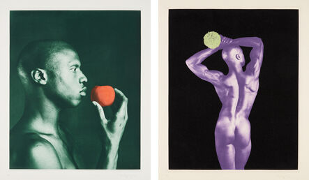 Robert Mapplethorpe, 'Untitled #3; and Untitled #5, from the Ken Moody Portfolio', 1986