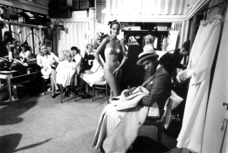 Arthur Elgort, 'Bonnie Berman and Andre Leon Talley, Paris', 1983