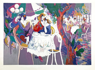 Isaac Maimon, 'WEST BANK CAFE', 1993