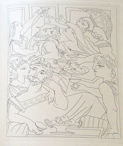 Pablo Picasso, 'Lysistrata By Aristophanes (Signed Book)', 1934