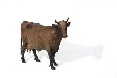 Joe Fafard, 'Soprano- small, detailed, bronze, cow, animal, sculpture', 2009