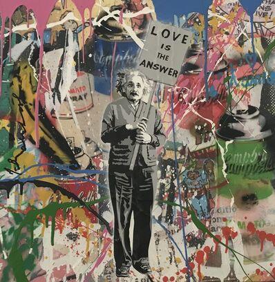 Mr. Brainwash, 'Einstein', 2016
