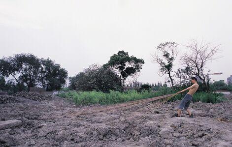 Xiang Liqing, 'Haul these stuff - 4 拖动这些东西-4', 2007