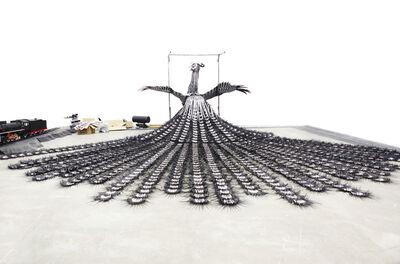 Sun Xun 孫遜, 'Magician Party and Dead Crow', 2013