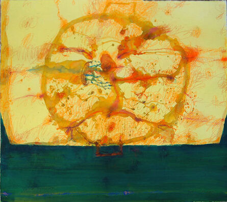 John Olsen (b.1928), 'Paella by the sea', 2014
