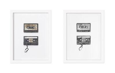Joel Daniel Phillips, 'Found Objects #6 & #7 (Cassettes)', 2017