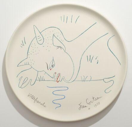 Jean Cocteau, 'Chèvre-Pied Buvant. Satyr Drinking.', 1958