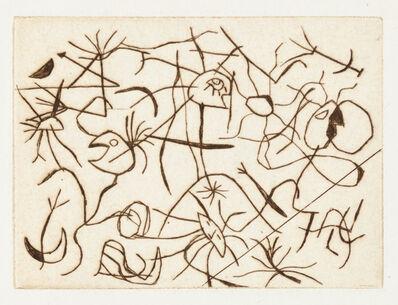 Joan Miró, 'Astres et Danseurs', 1938