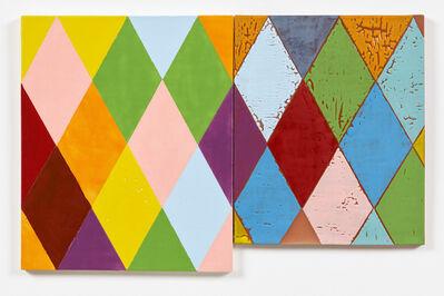 ANNE BERNING, 'HARLEKIN Dyptic II', 2015
