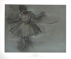 Edgar Degas, 'A Ballet Dancer'