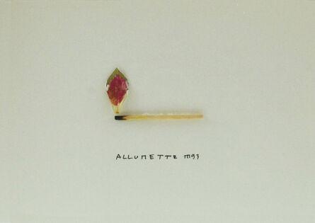 Marcel Miracle, 'Allumette', 1993