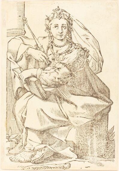 Jacques Stella, 'Sibylla Phrygia', 1625