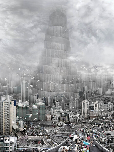 Du Zhenjun, 'The Tower of Babel—Wind', 2010