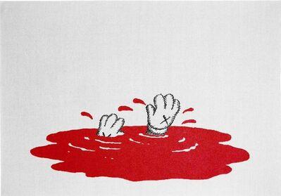 KAWS, 'Untitled (Red Blanket)', 2019