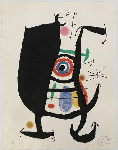 Joan Miró, 'L'Inhibe', 1969
