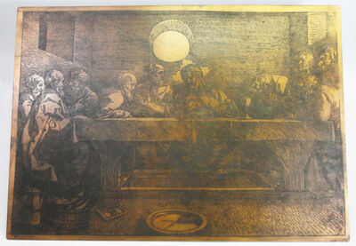 Anonymous, 'The last supper (Albrecht Dürer)', 19th century or possibly earlier