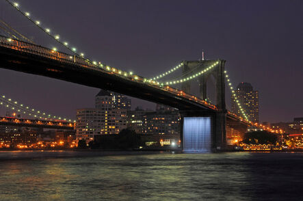 Olafur Eliasson, 'The New York City Waterfalls, Brooklyn Bridge', Jun 26, 2008 – Oct 13, 2008