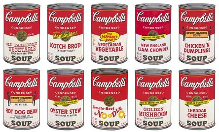 (after) Andy Warhol, 'Campbell's Soup Can II Portfolio ', 1960s printed later