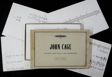 John Cage, 'Concert for Piano and Orchestra. Solo for Piano. ', 1960