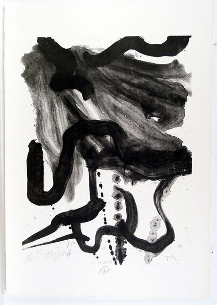 Willem de Kooning, 'Woman with Corset and Long Hair', 1970