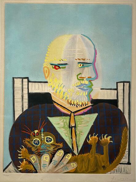 Pablo Picasso, 'Vollard et son Chat', 1960