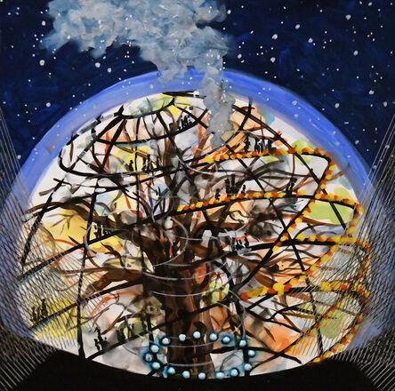 Michiko Itatani, ' Tree House Encounter from Cosmic Theater 16-K-15 ', 2016