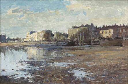 Edward Seago, 'Winter Morning, Strand-On-The-Green'