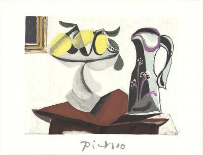 Pablo Picasso, 'Nature Morte au Citron et a la Cruche', 1982