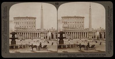 Bert Underwood, 'Vatican palace, residence of the Pope', 1900