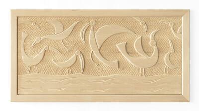 Judy Kensley McKie, 'Bird Headboard/Relief', 2013