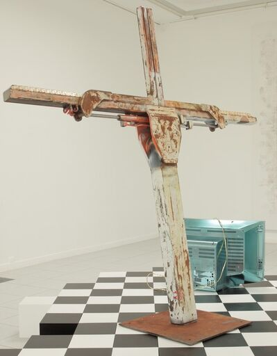 Nate Lowman, 'Multicolored Tow Truck', 2013