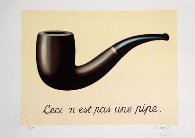 René Magritte, 'La Trahison des Images', 2010