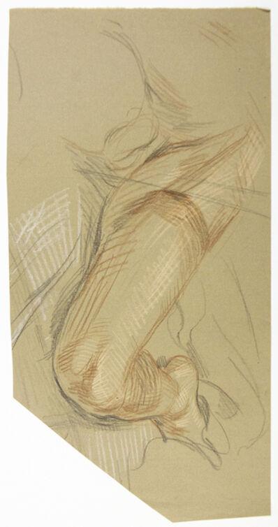 Paul Cadmus, 'Study of a Man's Leg', ca. 1965