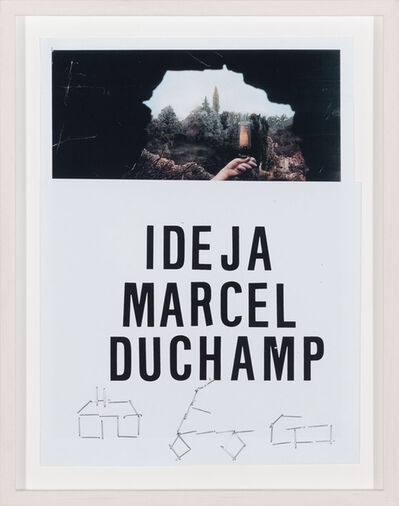 Vlado Martek, 'Idea M. Duchamp 3.'