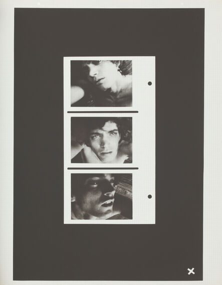 Robert Mapplethorpe, 'Self-Portrait (Triptych)', 1972