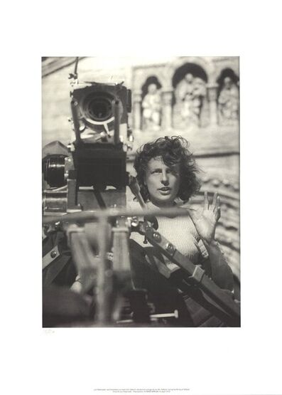 Leni Riefenstahl, 'During the Filming of Tiefland', 2002