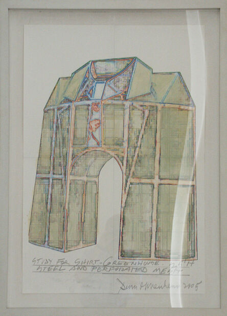 Dennis Oppenheim, 'Study for Shirt Greenhouse', 2005