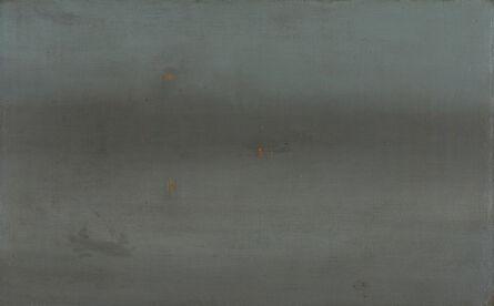James Abbott McNeill Whistler, 'Nocturne, Blue and Silver: Battersea Reach', 1872-1878
