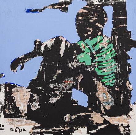Armand Boua, 'En plein sciensage', 2017