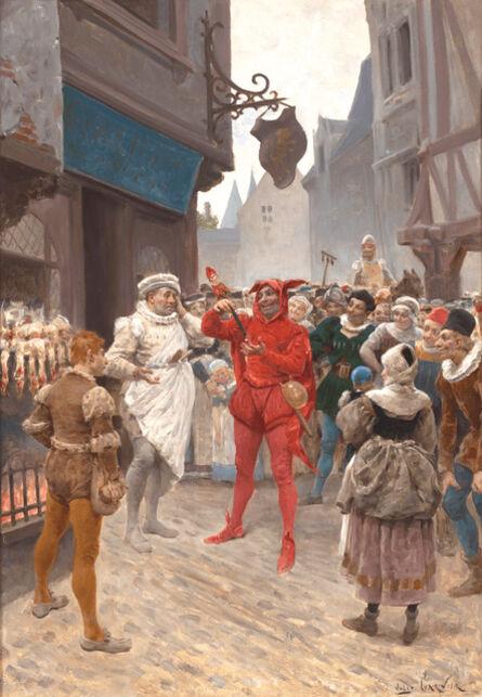 Jules-Arsène Garnier, 'La Vie de Gargantua et de Pantagruel', ca. 1870