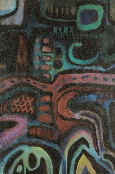 "Greta Freist, '""L'arbre - Der Baum""', 1968"