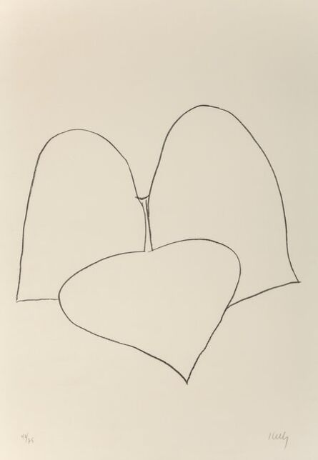 Ellsworth Kelly, 'String Bean Leaves III (Haricot Vert III), from Suite of Plant Lithographs', 1965-1966
