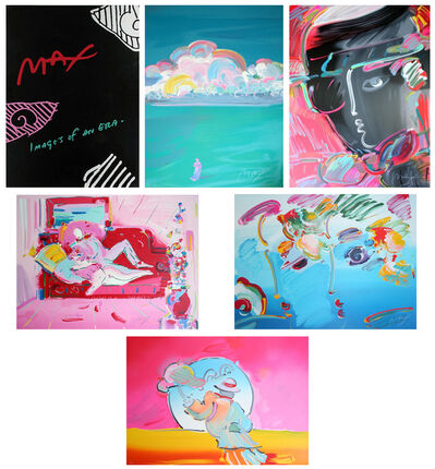 Peter Max, 'IMAGES OF AN ERA SUITE', 1990