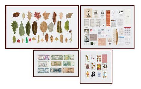 Maider López, 'Marcapáginas: hojas, calendarios, billetes y cartas', 2019