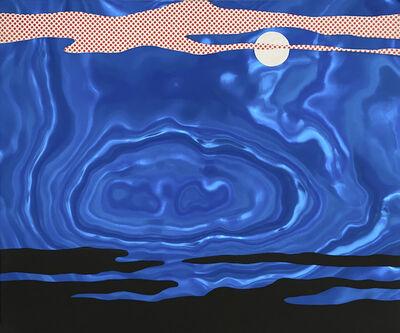 """Roy Lichtenstein, '""""Moonscape"""" from the portfolio """"11 Pop Artists"""", Bd. I', 1969"""