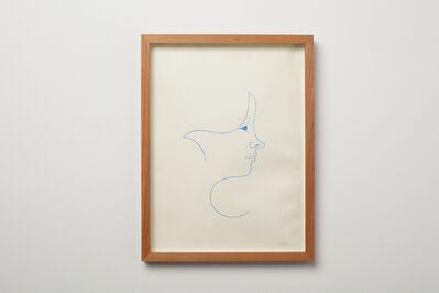 Clare E. Rojas, 'One Line Portrait', 2021