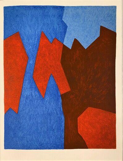 Serge Poliakoff, 'Composition rouge et bleue', 1975