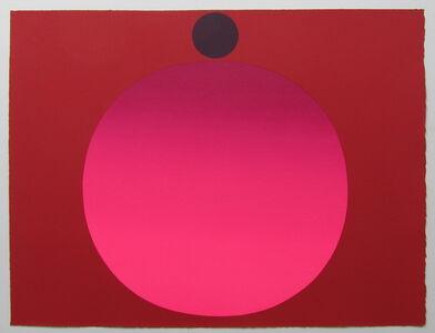 Rupprecht Geiger, 'metapher zahl (8)', 1986